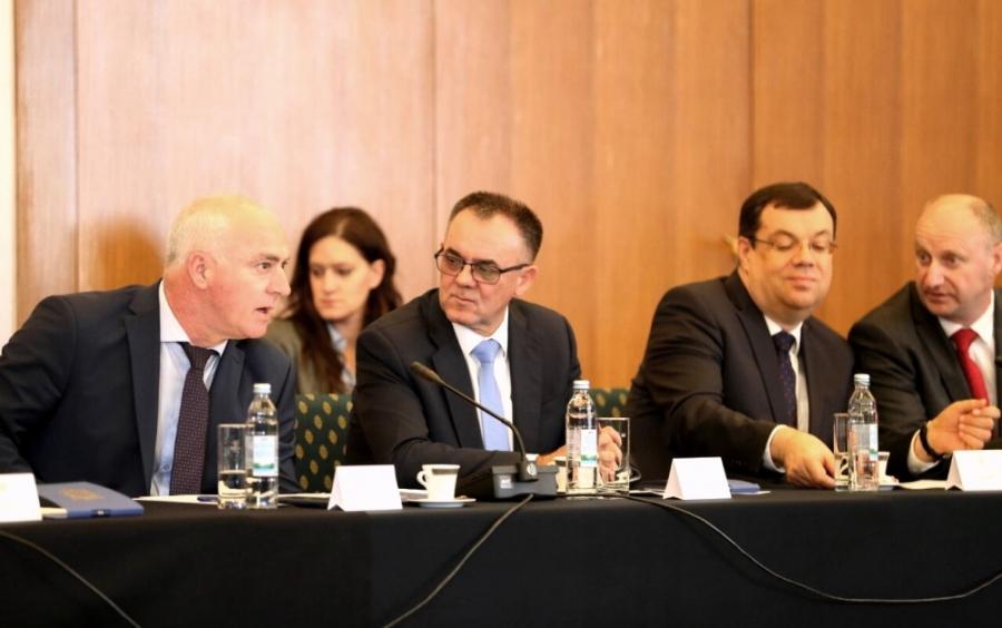 Župani na okruglom stolu sa Predsjednicom Republike Hrvatske