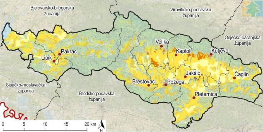 Uvid u Stratešku studiju utjecaja na okoliš za Županijsku razvojnu strategiju Požeško-slavonske županije za razdoblje do 2020. godine u tijeku