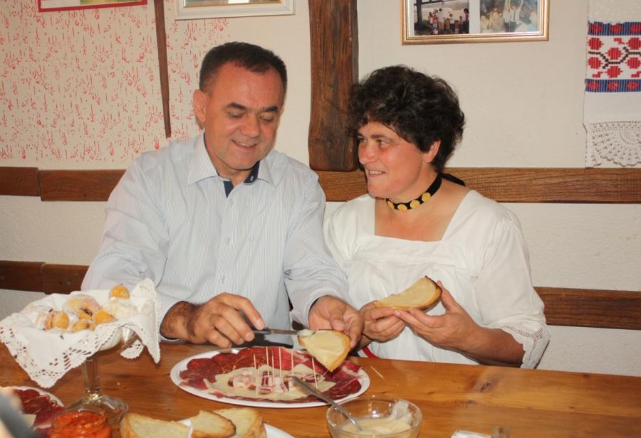 "Predstavnica Požeško - slavonske županije za ""Izbor najuzornije hrvatske seoske žene"""
