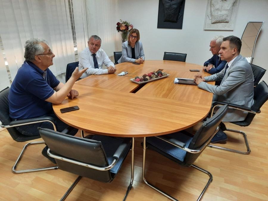 Ministar Horvat u Požegi, susreo se i s radnicama Orljave