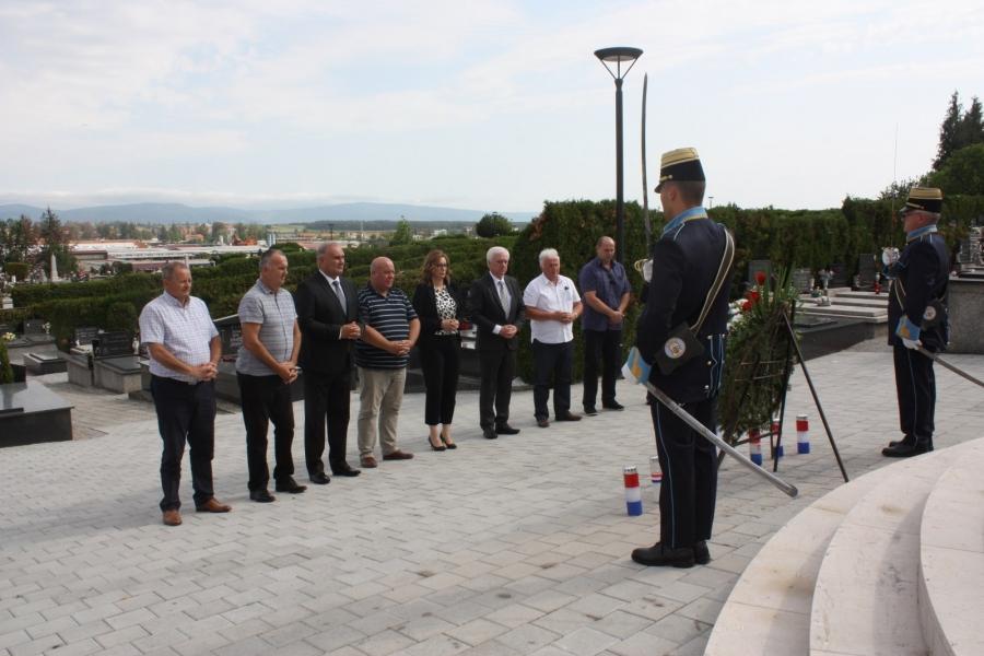 Polaganje vijenaca povodom Europskog dana sjećanja na žrtve svih totalitarnih i autoritarnih režima