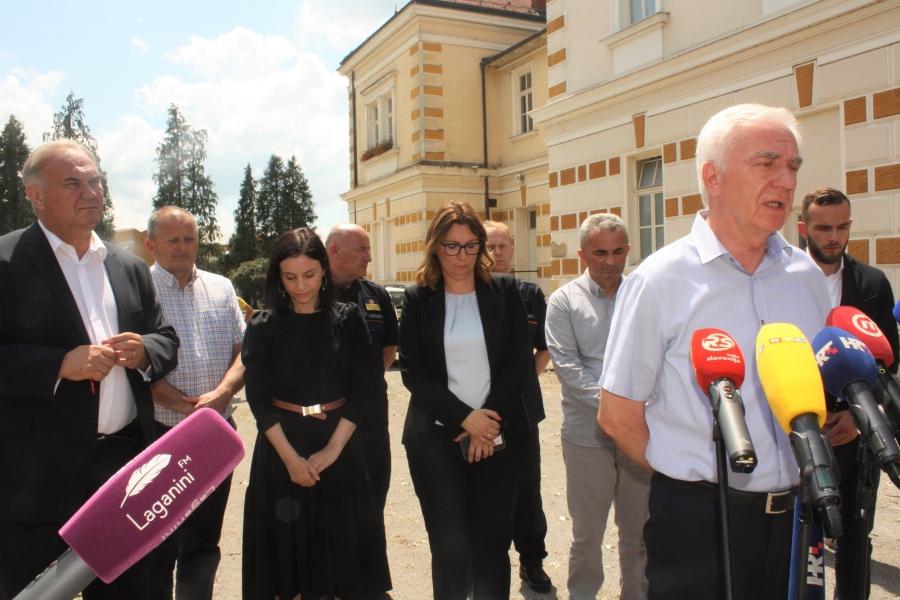 """Ministar Medved: """"Vlada RH će već u četvrtak donijeti odluku o pomoći Požeško-slavonskoj županiji"""""""