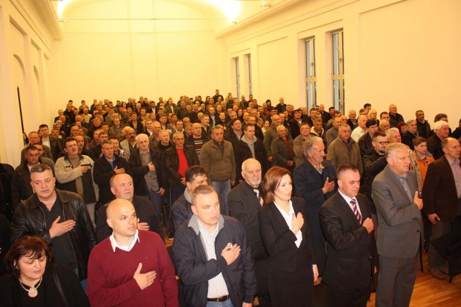 U Požegi održana tribina o problemima hrvatskih branitelja