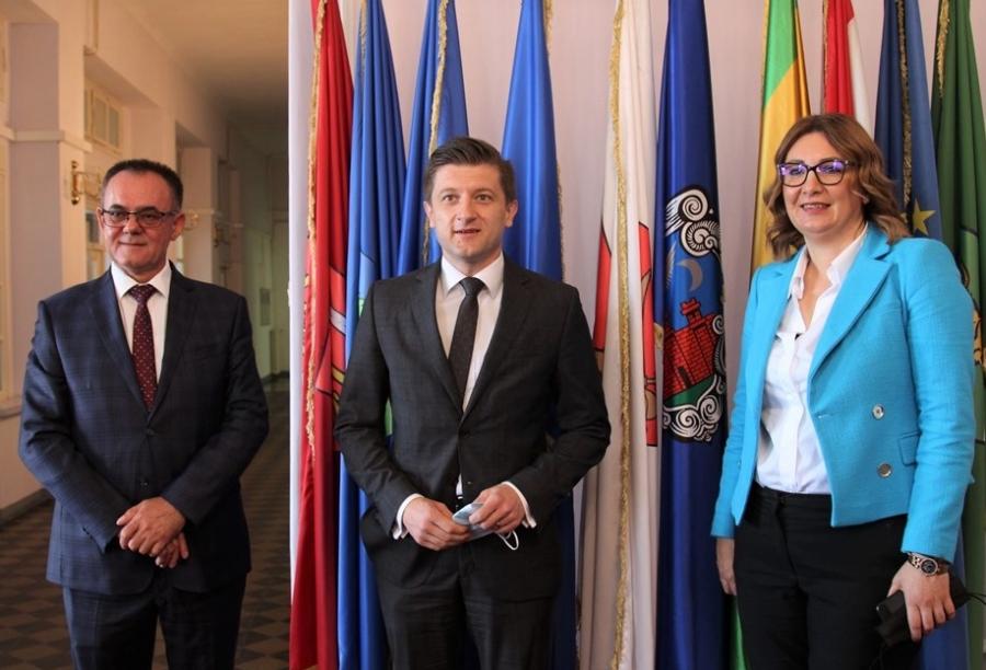 Ministar Zdravko Marić čestitao novoizabranoj županici
