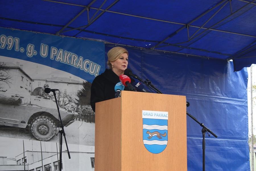 Predsjednica u Pakracu i Lipiku