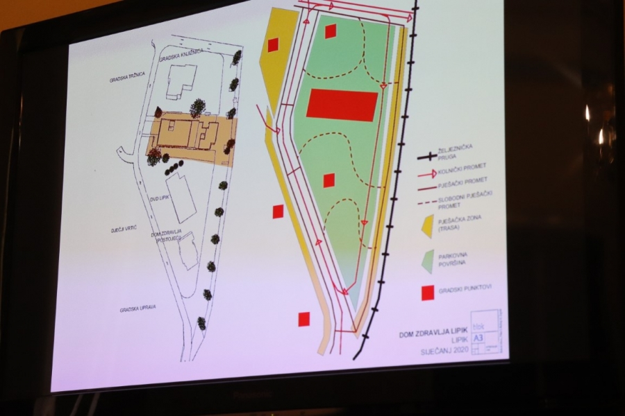 Održana prezentacija idejnog projekta zgrade novog Doma zdravlja u Lipiku