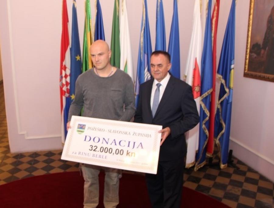 Za malenu Rinu prikupljeno 32 tisuće kuna