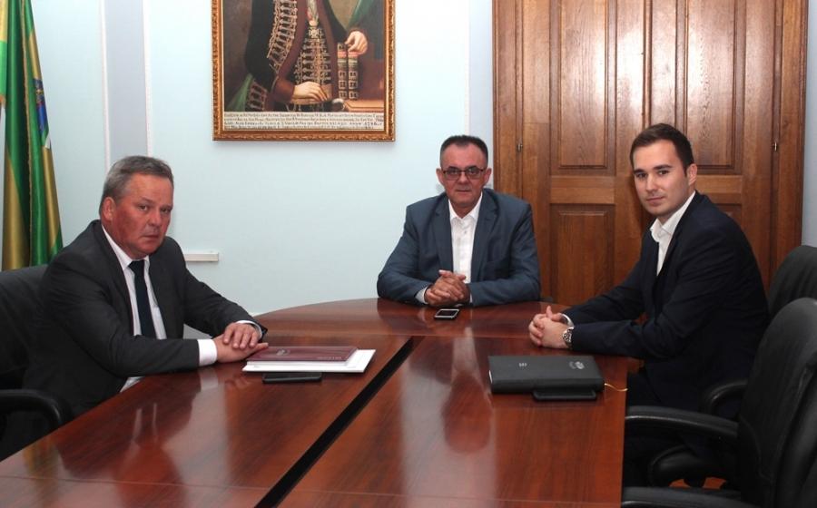 Radni sastanak sa novim predsjednikom Uprave i članom Uprave Kutjeva d.d.