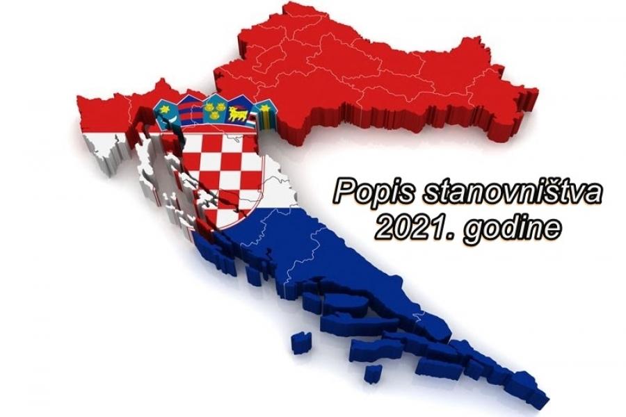 Javni poziv zainteresiranim kandidatima za podnošenje prijava za posao popisivača i kontrolora u drugoj fazi provedbe Popisa stanovništva, kućanstava i stanova u Republici Hrvatskoj 2021. godine
