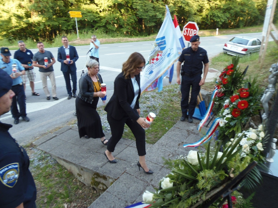 Obilježena 30. godišnjica pogibije hrvatskog policajca Vlade Laučana
