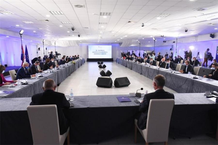 Održana XI. Sjednica Savjeta za Slavoniju, Baranju i Srijem u Našicama