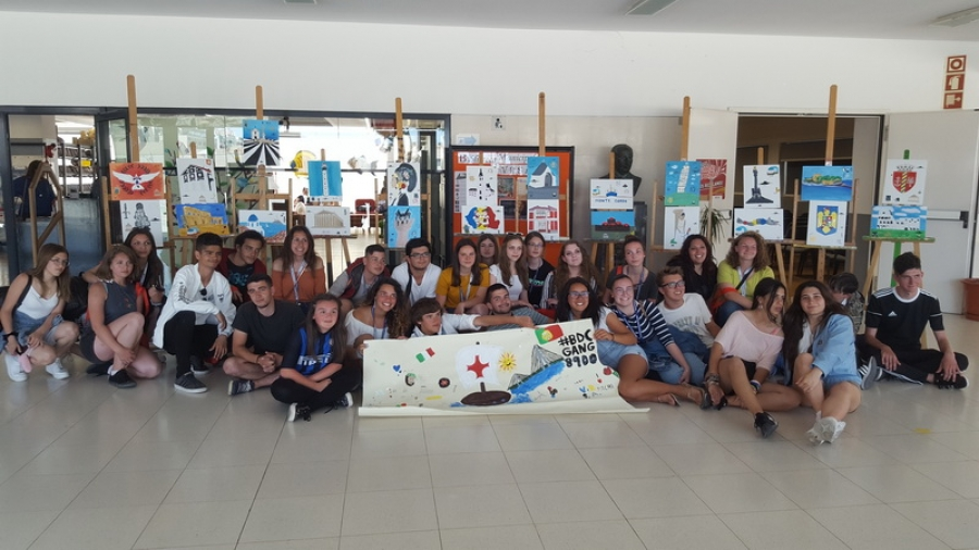 "Učenici Ekonomske škole putovali u Portugal projektom ""My Culture – Your Culture – Our Culture"""