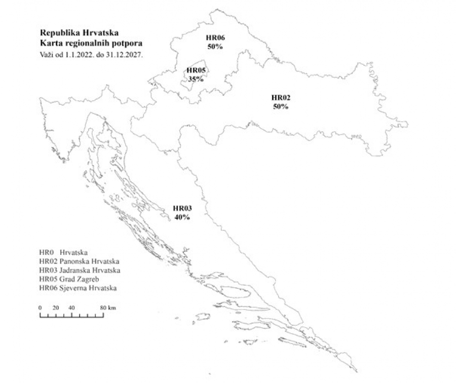 Županica Jozić: Vlada ispravila nepravdu prema Slavoniji, usvojena nova karta regionalnih potpora