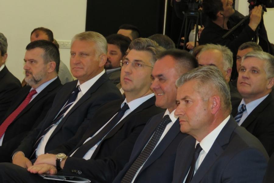 Predsjednik Vlade Andrej Plenković nazočio proslavi Dana županije