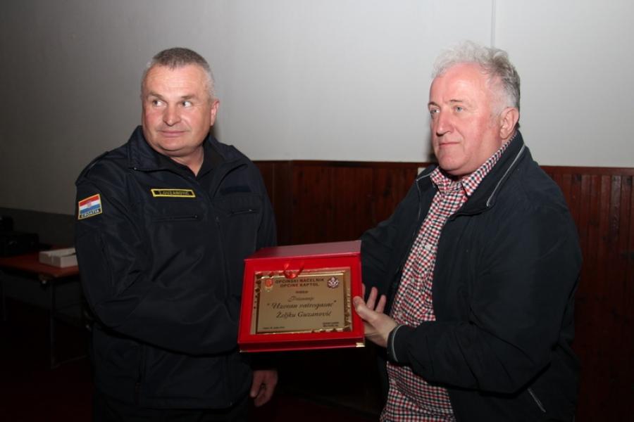 126. godišnja skupština Dobrovoljnog vatrogasnog društva Kaptol