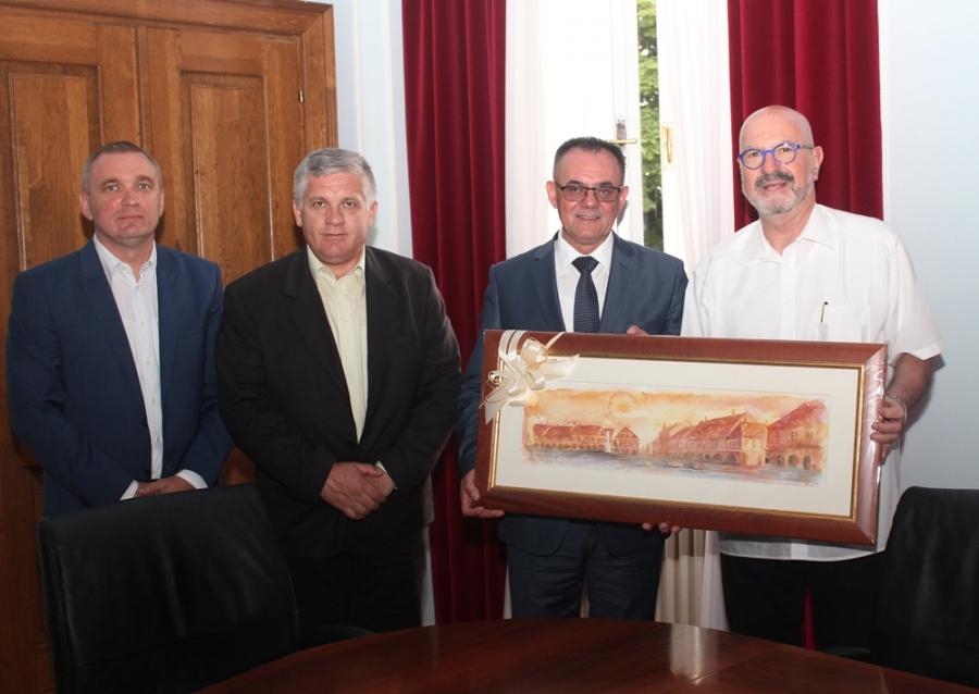 Veleposlanik Države Izraela Ilan Mor posjetio Požeško-slavonsku županiju