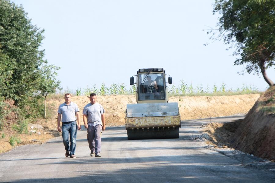 Župan obišao radove na cesti Bučje - Lovčić