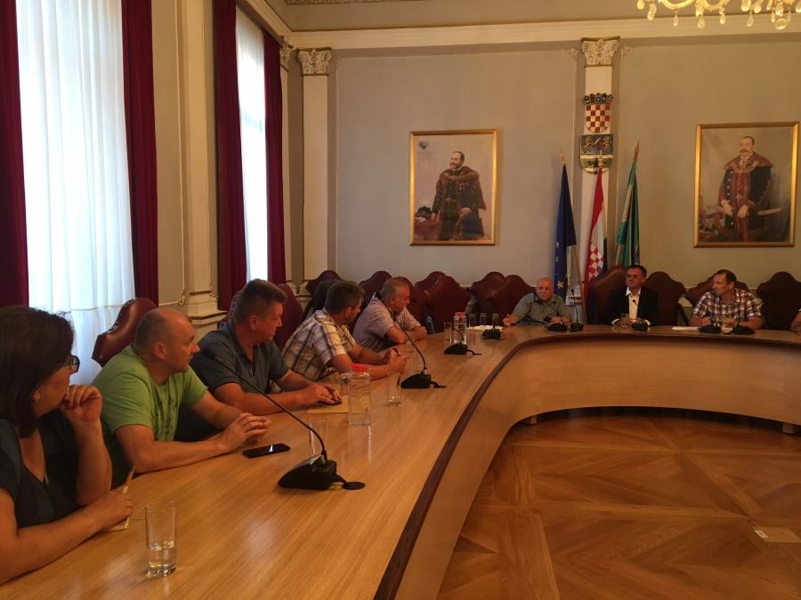 Župan održao sastanak sa predstavnicima tvrtke Podravka