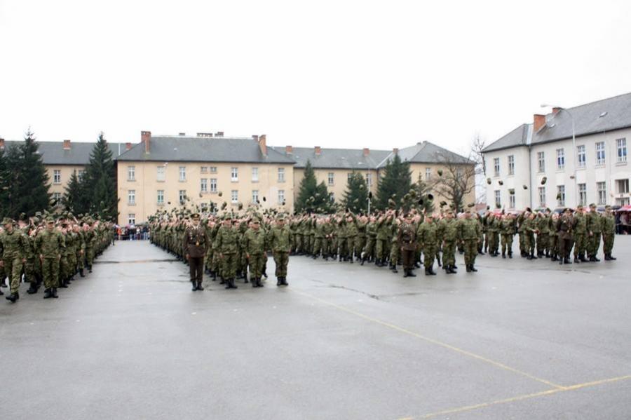 Svečana prisega u požeškoj vojarni