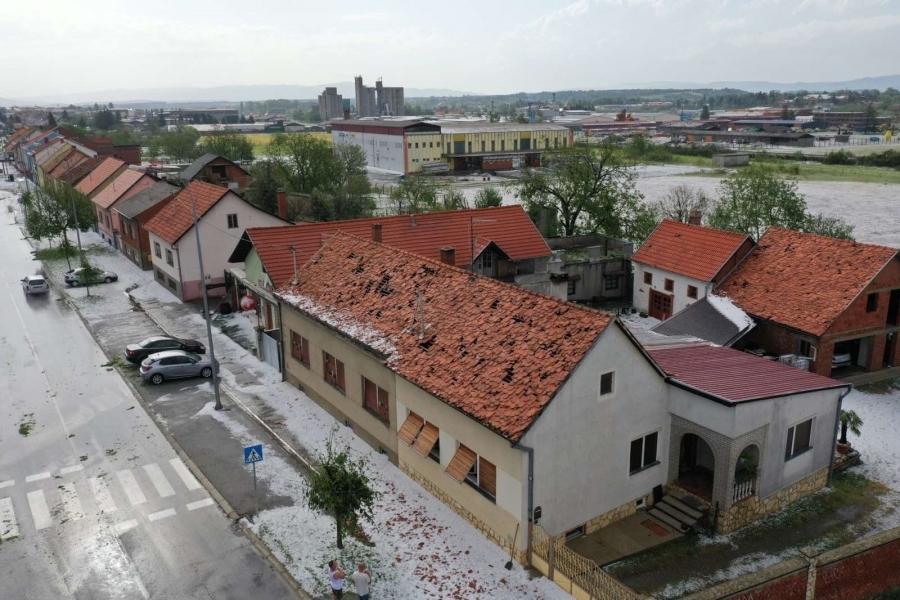 Županica Jozić proglasila prirodnu nepogodu