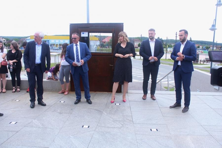"""Svečano otvoren Interpretacijski centar """"Terra Panonica"""" u Pleternici"""