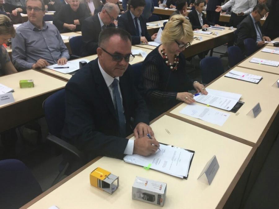 Župan Tomašević na potpisivanju ugovora u Ministarstvu regionalnog razvoja i fondova EU