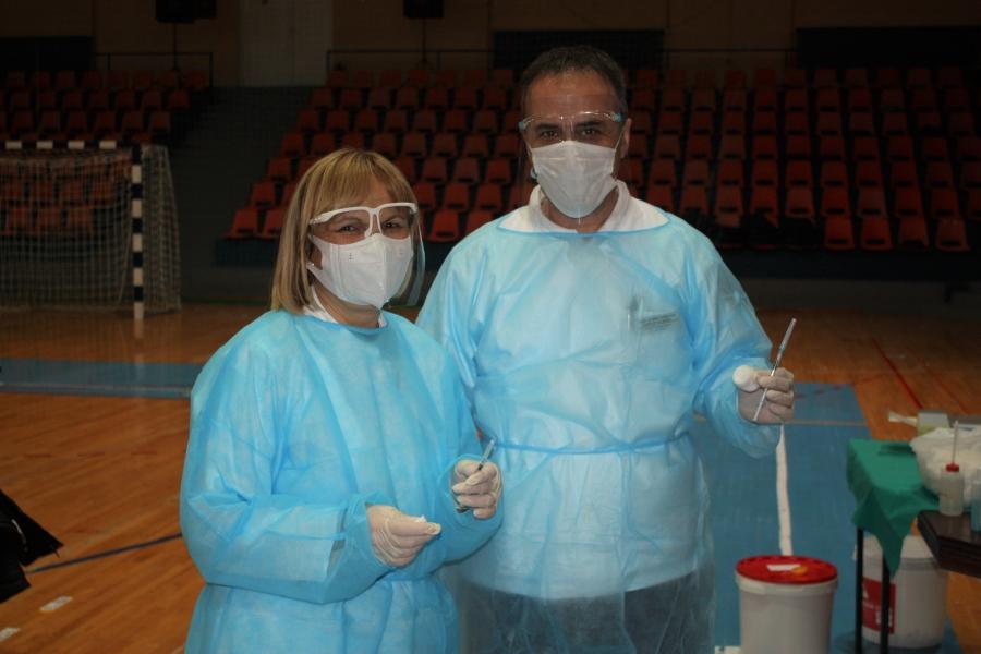 Organizirano cijepljenje u Požegi