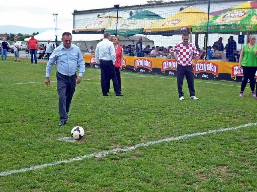 Nogometni turnir Udruge specijalne policije Trenk