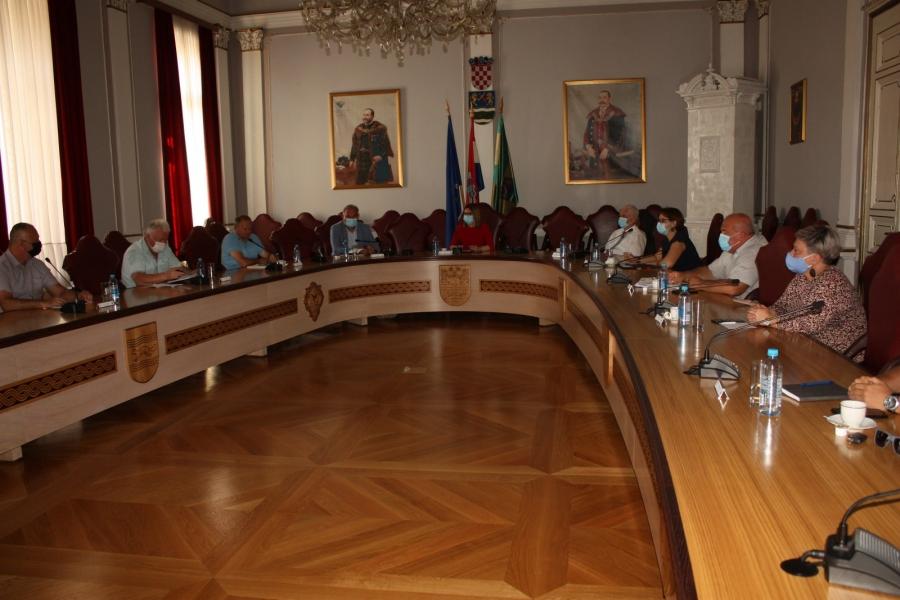 Županica održala prvu Koordinaciju gradonačelnika i načelnika