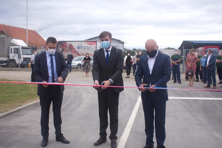 Otvorenje novog poslovnog kruga Komunalca Požega