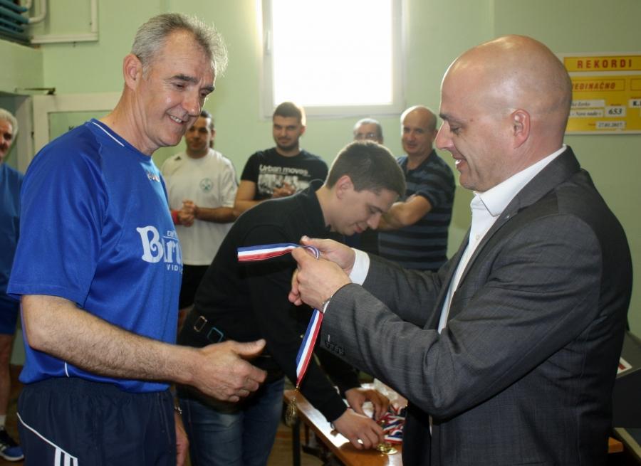 Svečanost povodom završetka lige i osvajanja 1. mjesta u 4. KHLI-Pž