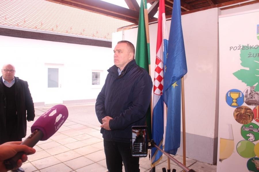 Tržnice na otvorenom - tiskovna Stožera civilne zaštite Požeško-slavonske županije