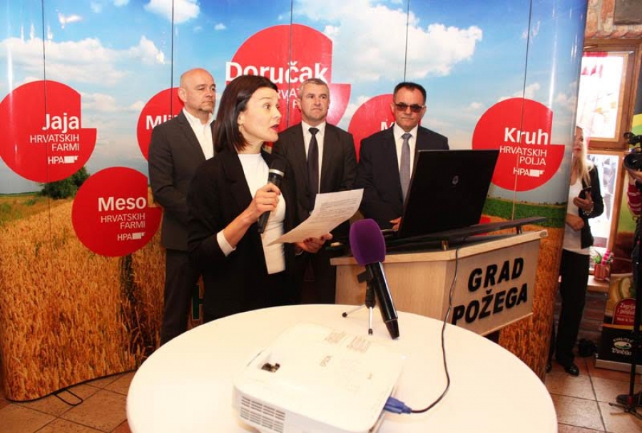 U Požegi održan Doručak s hrvatskih farmi