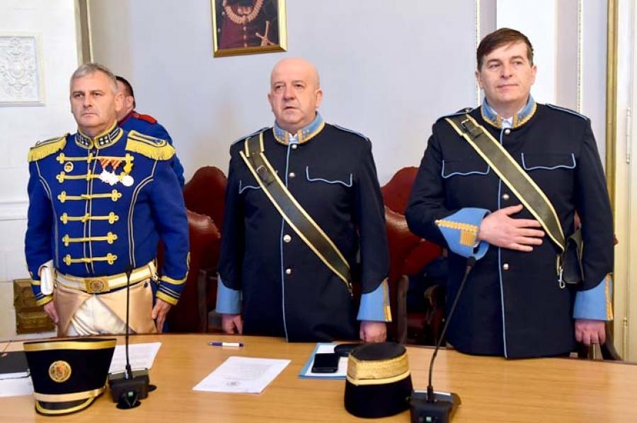 Godišnja skupština povijesnih postrojbi Hrvatske