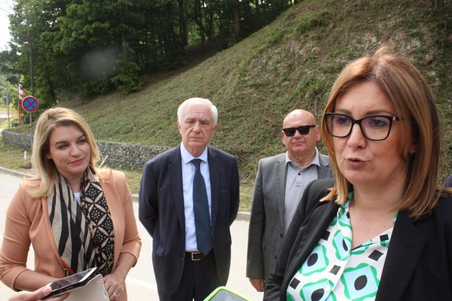 Ministrica Nikolina Brnjac posjetila gradilište u općini Velika