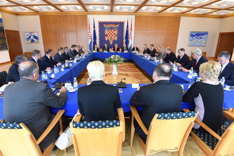 Županije dobile potporu predsjednice Republike Hrvatske Kolinde Grabar - Kitarović