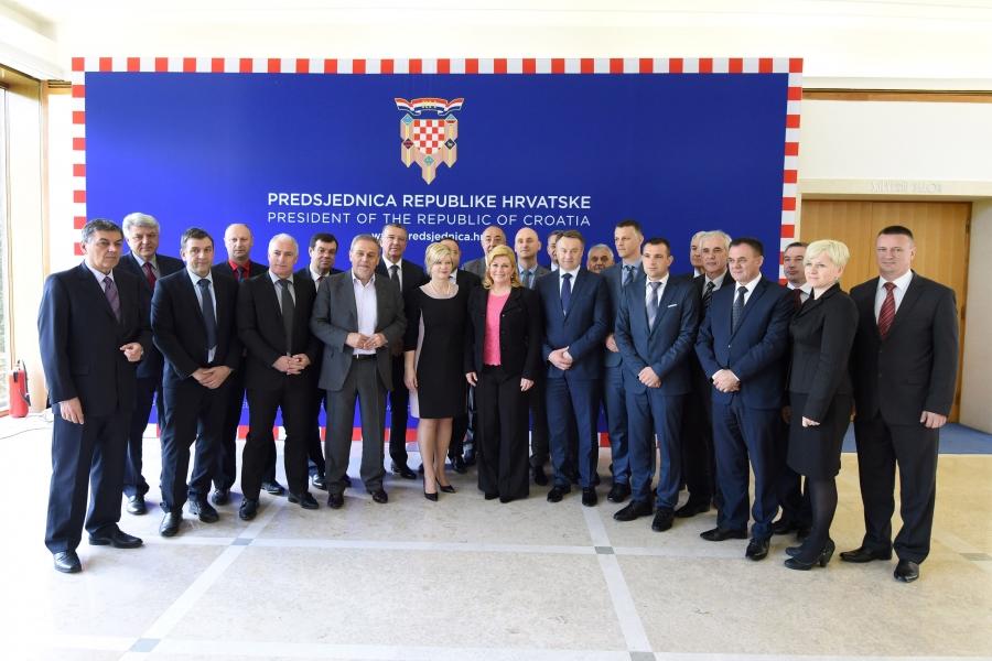 Izvor: Ured predsjednice RH, Tomislav Bušljeta