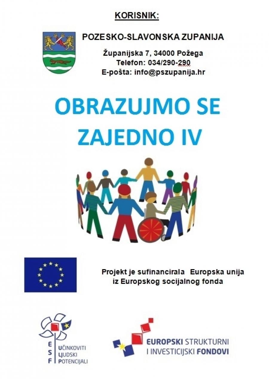 Kroz projekte do obrazovanja – Regionalni koordinator razvoja Požeško-slavonske županije