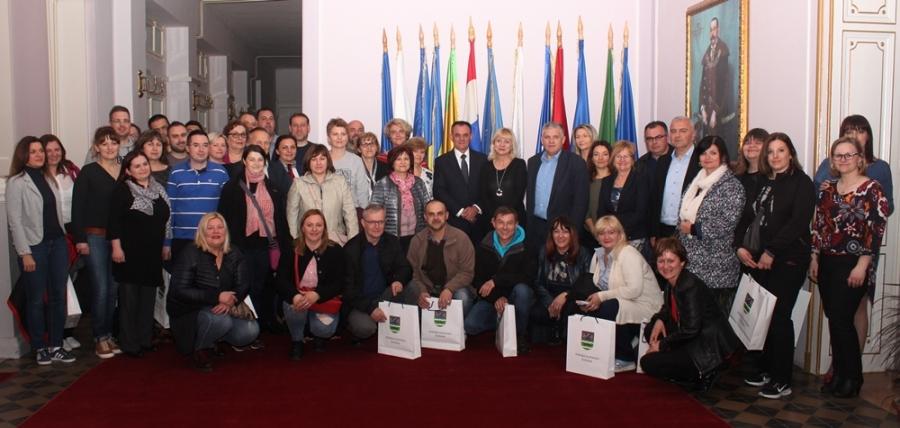 Djelatnici Bjelovarsko-bilogorske županije u posjeti Požeško-slavonskoj županiji