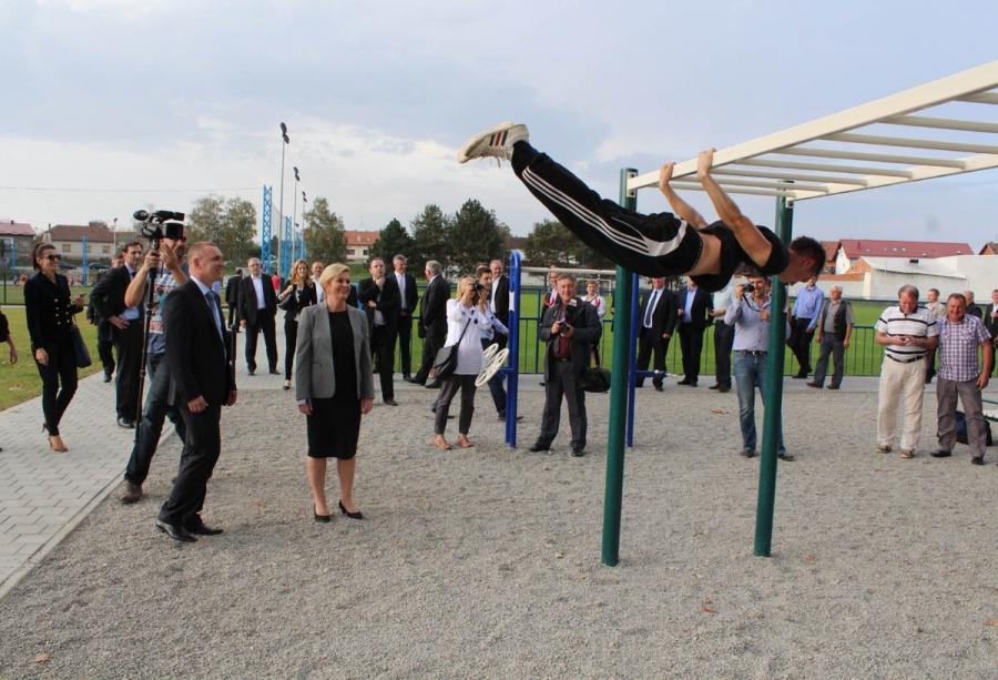 U Požegi otvoren novi Sportsko - rekreacijski centar i šetnica uz Orljavu
