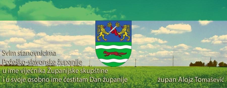 Čestitka župana Alojza Tomaševića povodom Dana županije
