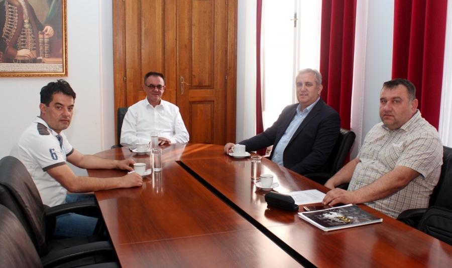 Radni sastanak s predstavnicima Nogometnog saveza Požeško-slavonske županije