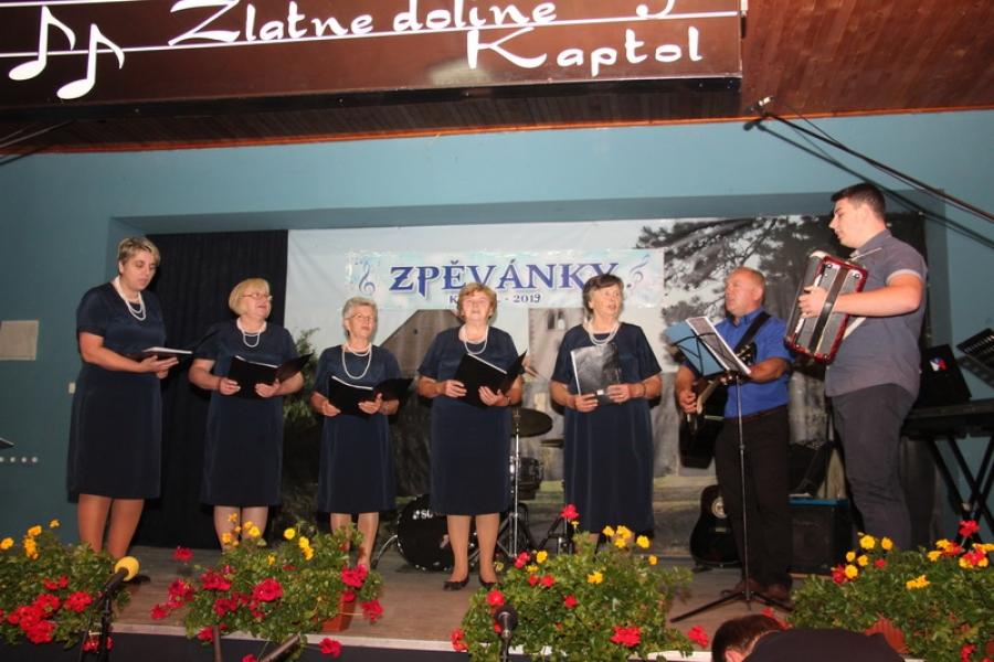 Smotra pjevačkih zborova i skupina Zpevanky 2019. u Kaptolu