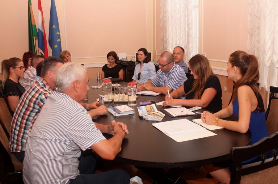 Radni sastanak povodom održavanja Dana Hrvatskog turizma u Slavoniji