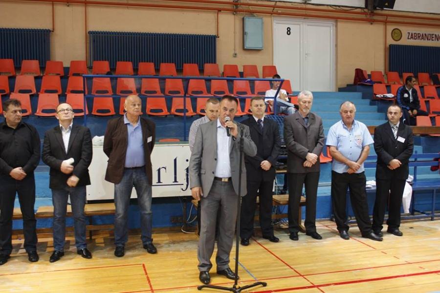 Župan otvorio sportske igre hrvatskih branitelja povodom Dana policije