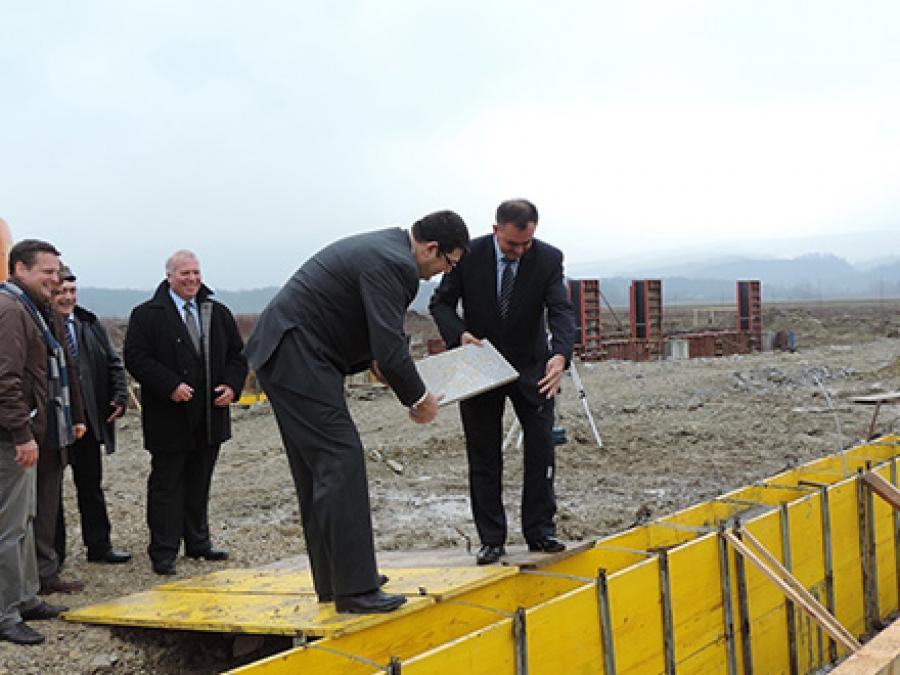 U Lipiku položen kamen temeljac za izgradnju hladnjače