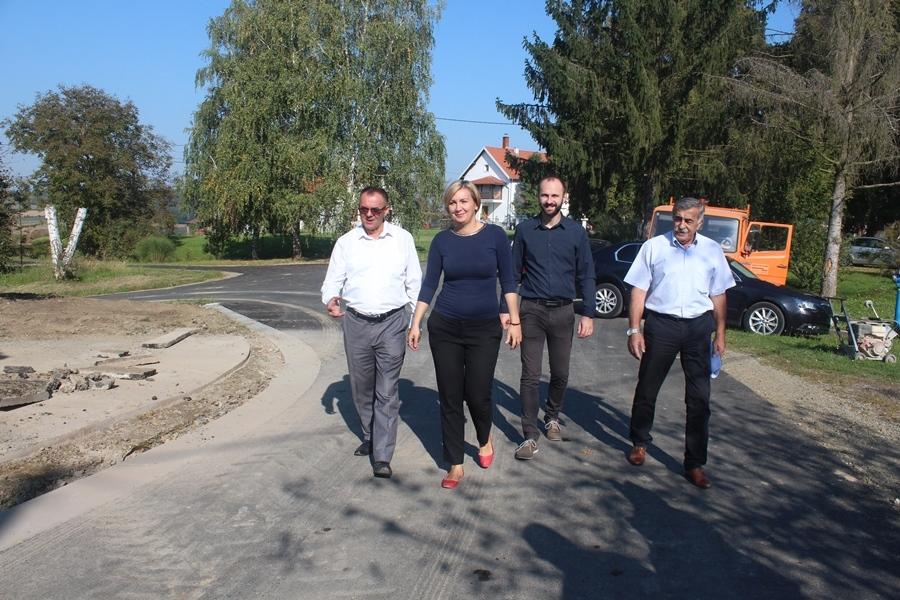 Župan obišao radove na cesti u Sesvetama