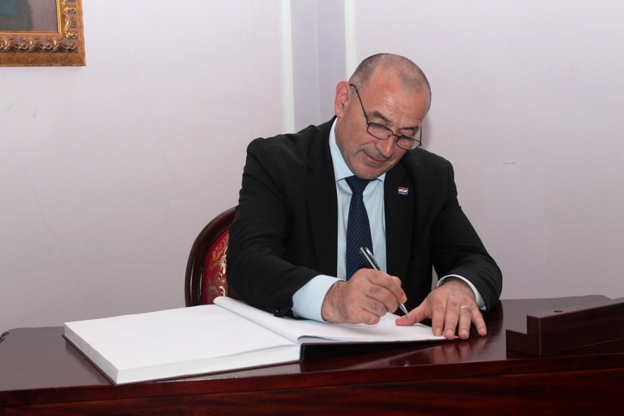 Ministar hrvatskih branitelja na sastanku sa županom