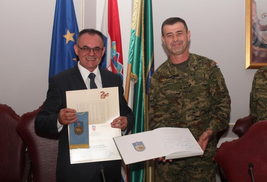 """Prijem polaznika 22. naraštaja Ratne škole """"Ban Josip Jelačić"""""""