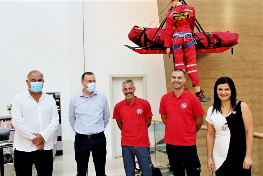 "Otvorena izložba ""Trending #HGSS70"" Hrvatske gorske službe spašavanja"